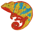 Camaleón de África - pelaje 1340000002